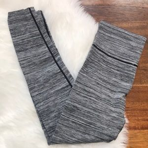 Connection 18 Fold Over Leggings Gray and Thick